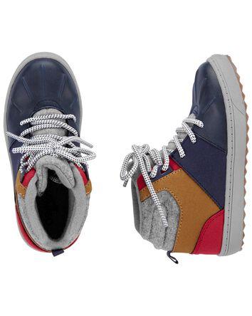 Colourblock Boots