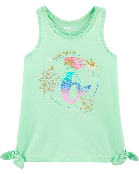 Mermaid Side Tie Tank