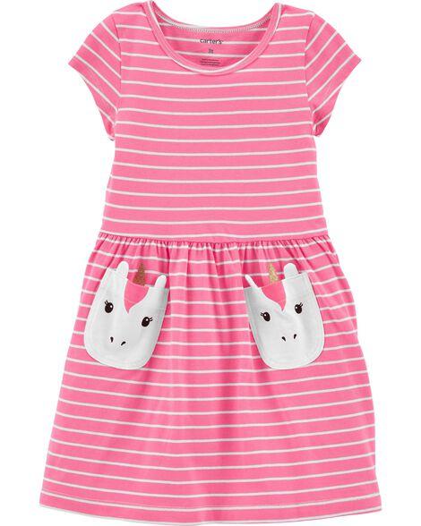 Unicorn Pocket Dress