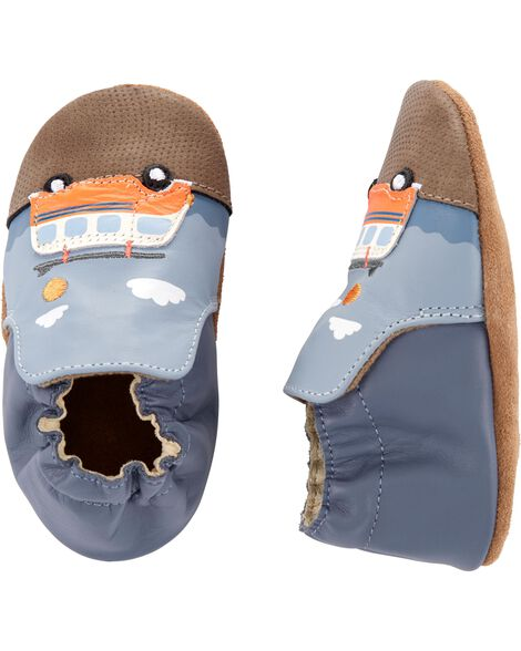 Surfing Soft Sole Baby Shoes