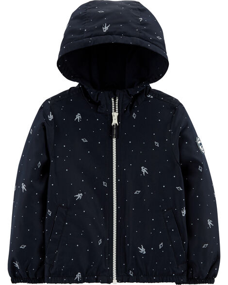 Glow In The Dark Space Mid Weight Jacket Carter S