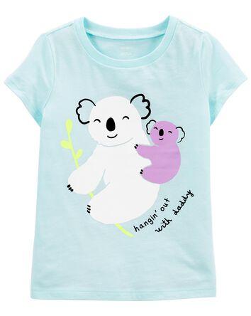 T-shirt en jersey à koala