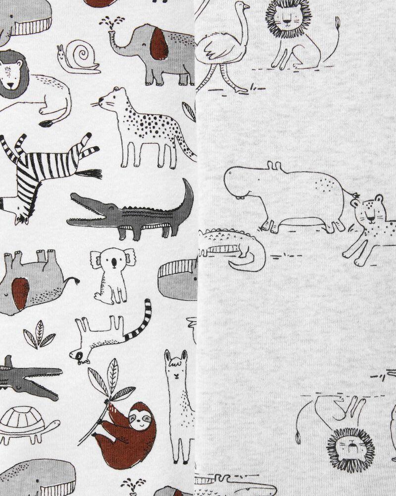 5-Pack Animal Original Bodysuits, , hi-res