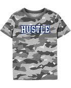 T-shirt camouflage Hustle, , hi-res
