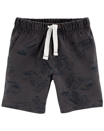 Car French Terry Shorts
