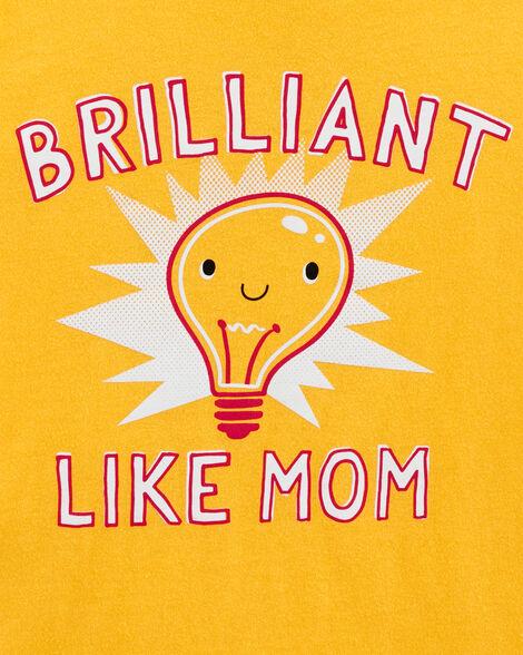 T-shirt en jersey Brilliant Like Mom