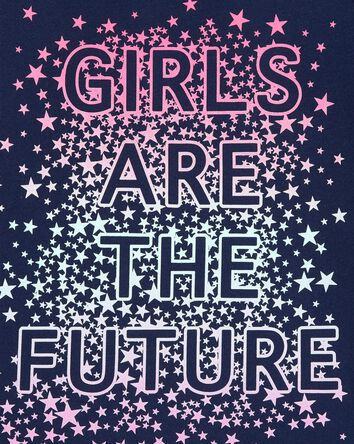 Girls Are The Future Jersey Tee