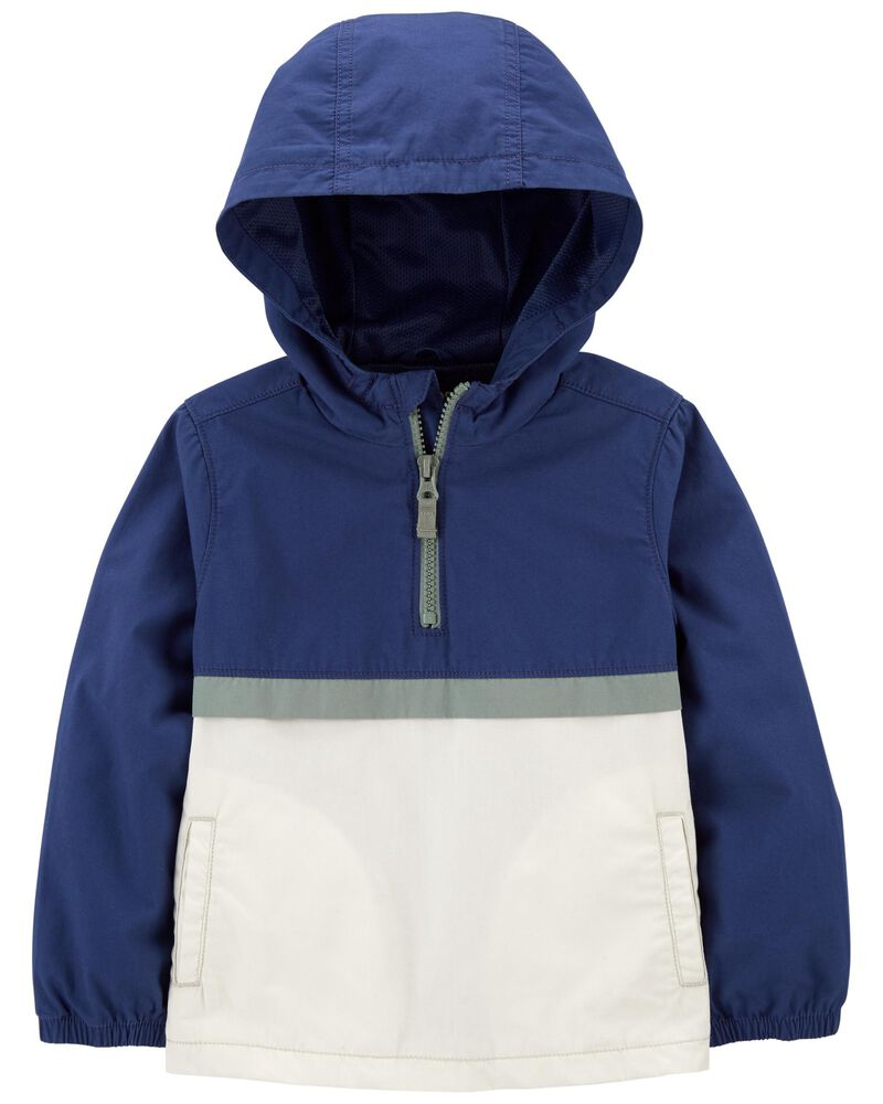 Hooded Pullover Jacket, , hi-res