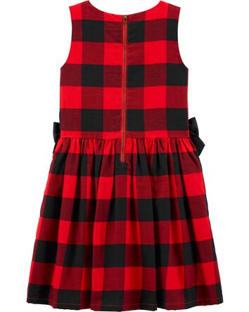 Buffalo Check Twill Dress