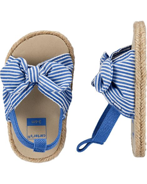 Sandales espadrilles pour bébés