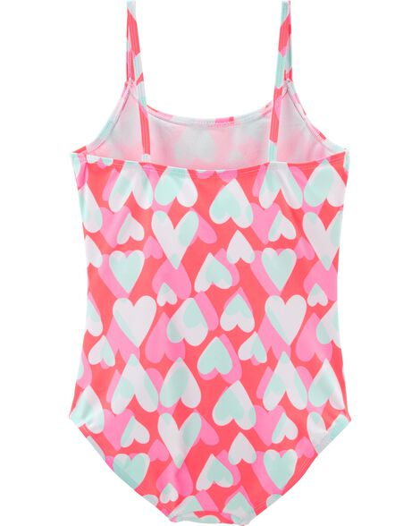 Heart 1-Piece Swimsuit