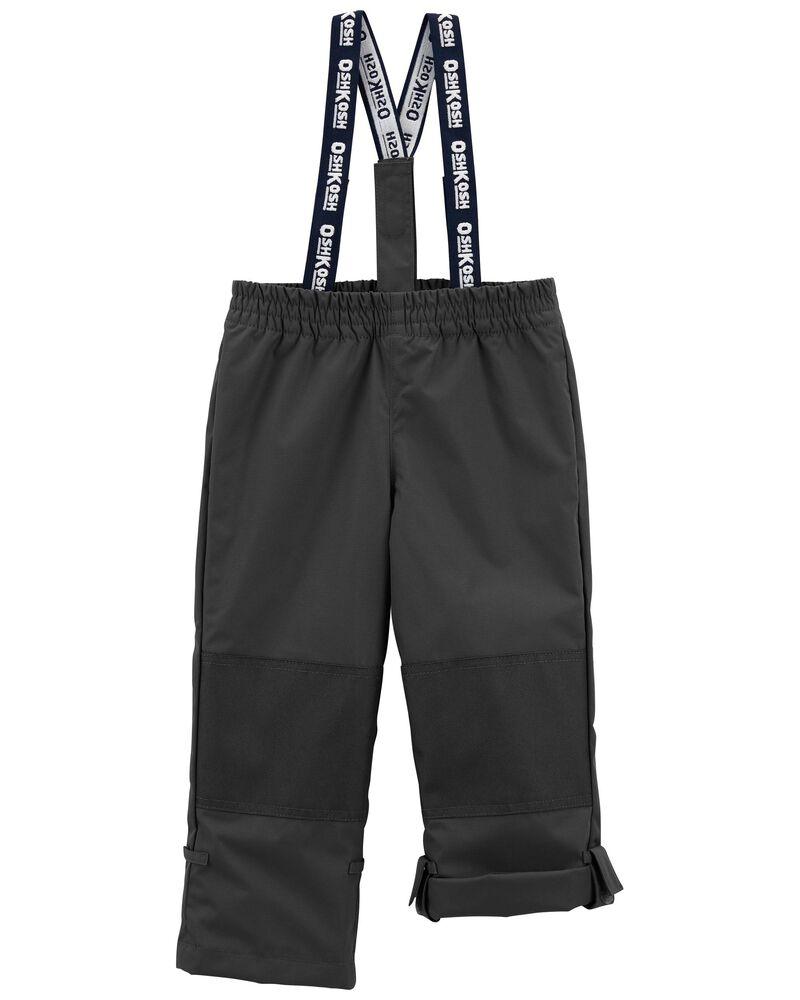 Fleece-Lined Midweight Snow Pants, , hi-res