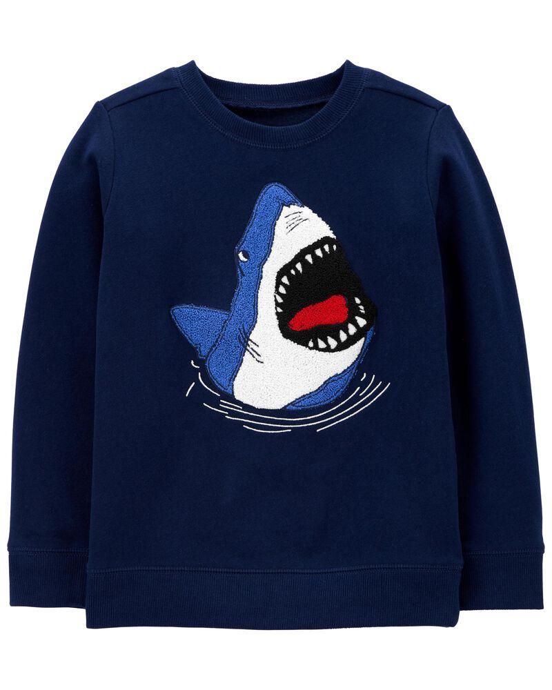 Shark Fleece Pullover, , hi-res