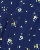 Floral Fleece-Lined Jacket, , hi-res