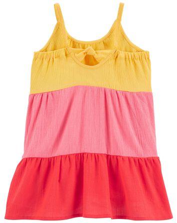 Tiered Gauze Sun Dress