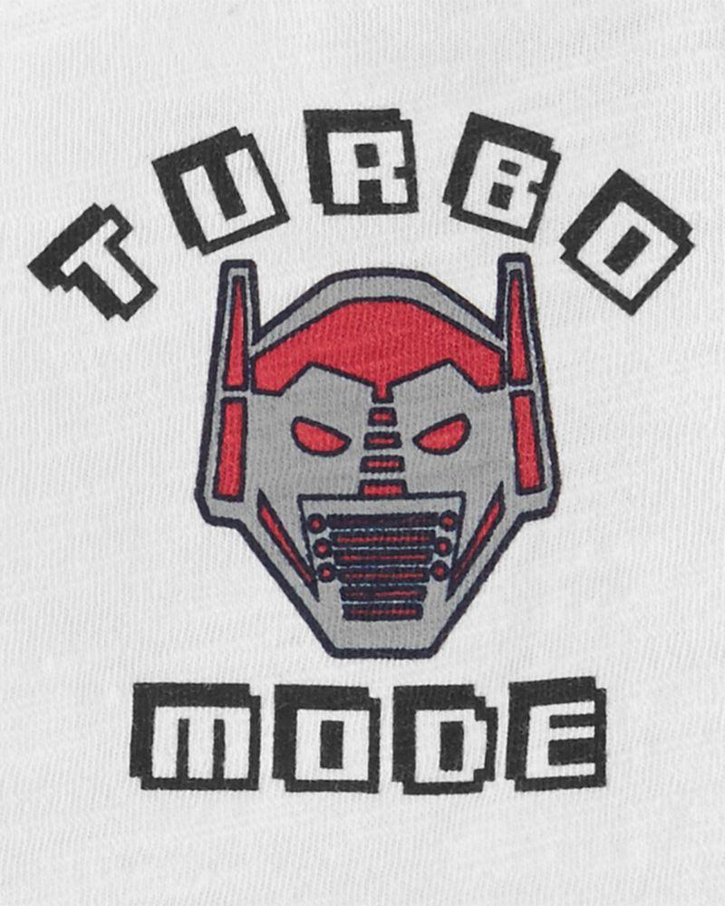 T-shirt Turbo Mode Robot, , hi-res