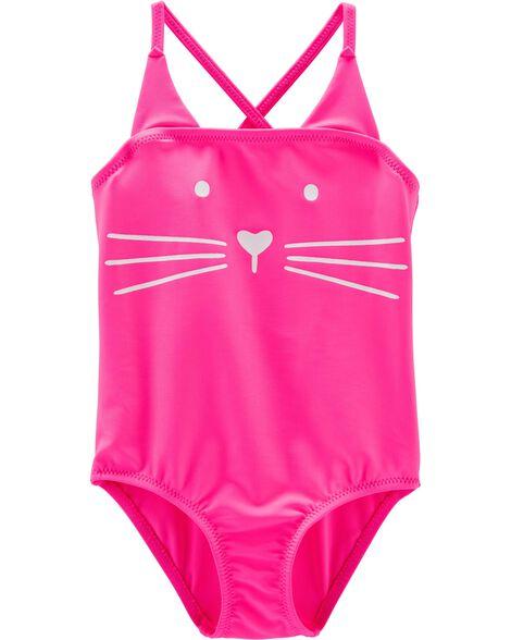 Cat 1-Piece Swimsuit