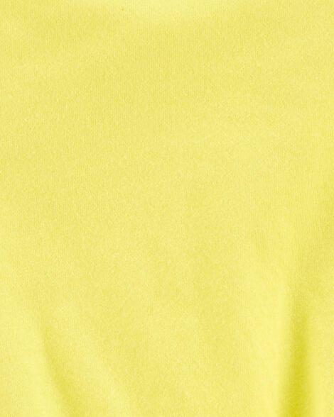 Tie-Front Jersey Top