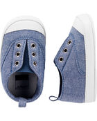 Chambray Slip-On Sneakers, , hi-res