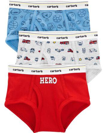 3-Pack Hero Cotton Briefs