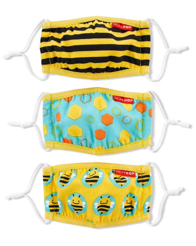 ZOO® Kids' Face Masks – Bee, , hi-res