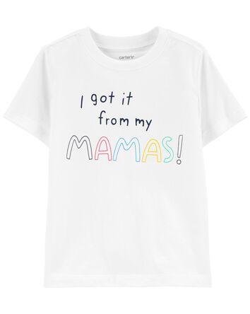 T-shirt en jersey Love Mom