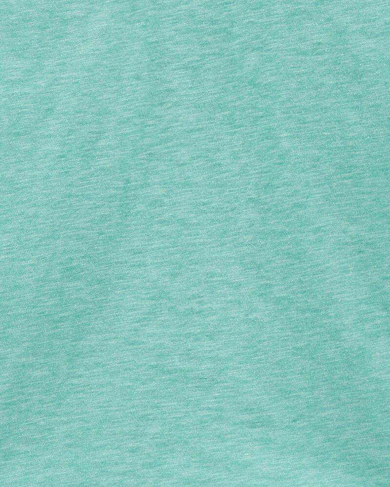 2-Piece Slub Jersey Polo & Gingham Shorts, , hi-res