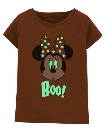 Glow Halloween Minnie Mouse Tee