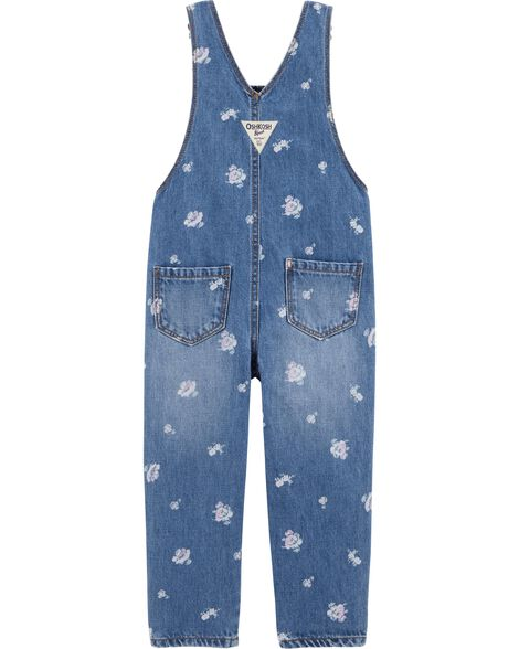 Denim Overalls - Cornflower Blue Wash