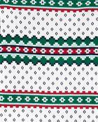 2-Piece Fair Isle 100% Snug Fit Cotton PJs, , hi-res
