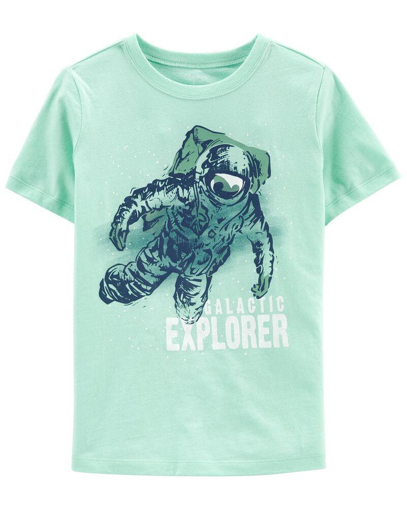 T-shirt en jersey à astronaute, , hi-res