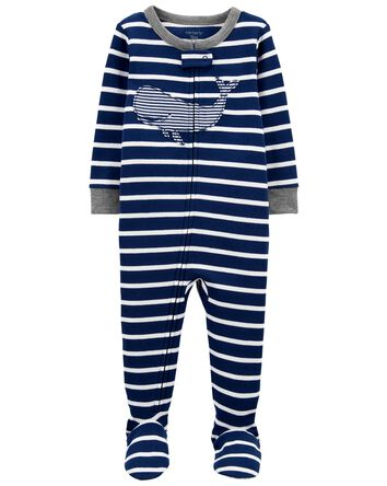 1-Piece Whale 100% Snug Fit Cotton...