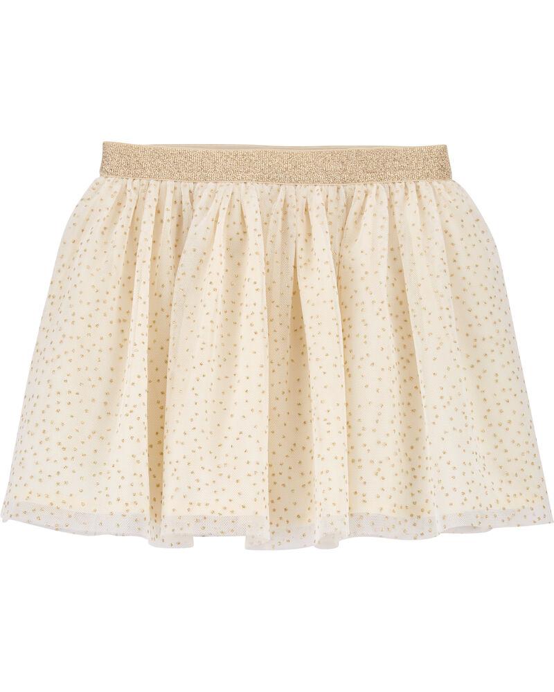 Sparkle Polka Dot Tulle Skirt, , hi-res