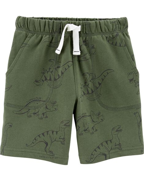Dinosaur Pull-On French Terry Shorts