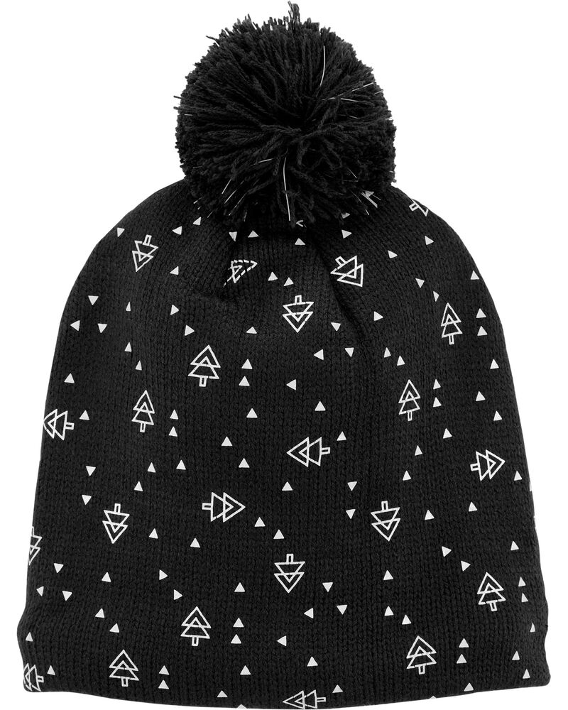 Reflective Band Winter Hat, , hi-res