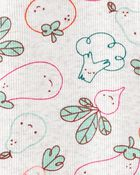 Veggies 2-Way Zip Cotton Sleep & Play, , hi-res