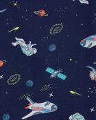 4-Piece Astronaut 100% Snug Fit Cotton PJs, , hi-res