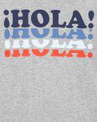 T-shirt en jersey Hola, , hi-res
