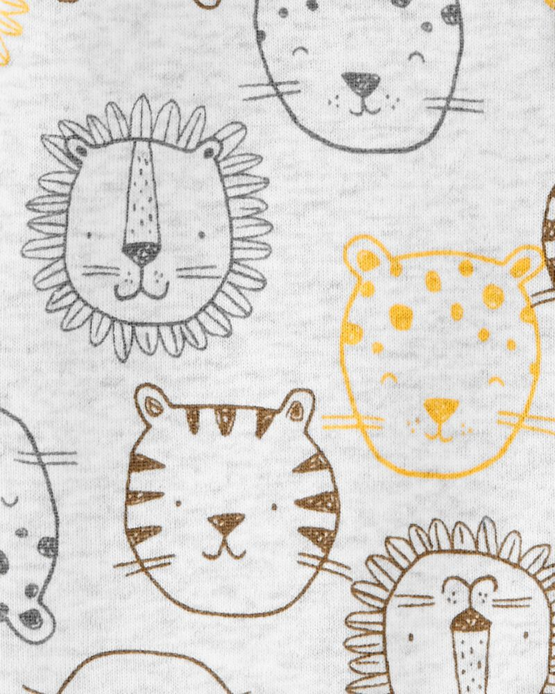 Lion Snap-Front Romper, , hi-res