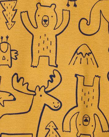 Cache-couche henley à créatures des...