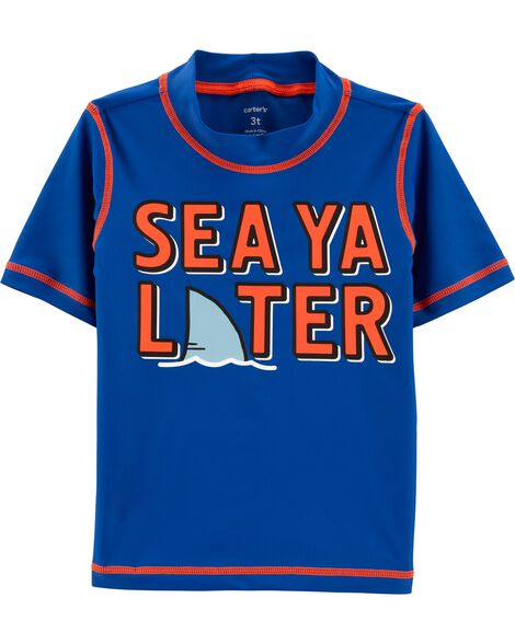 Sea Ya Later UV Swim Shirt