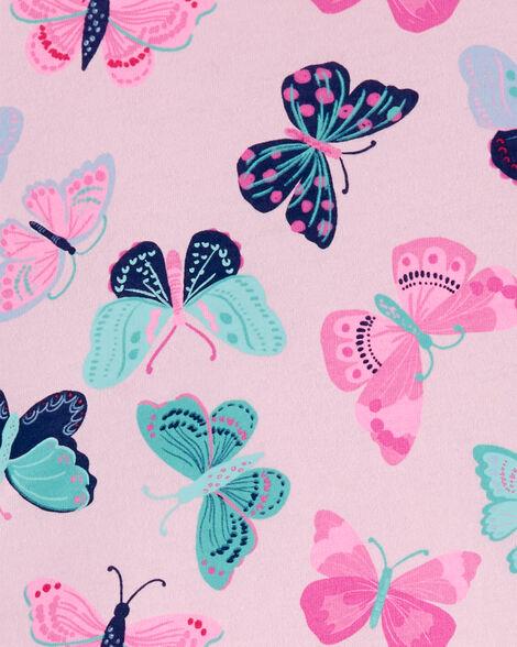 Haut à basque avec papillons