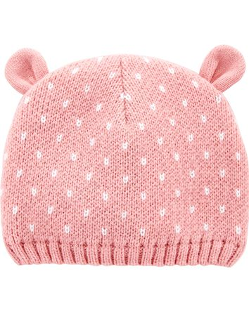 Knit Bear Cap
