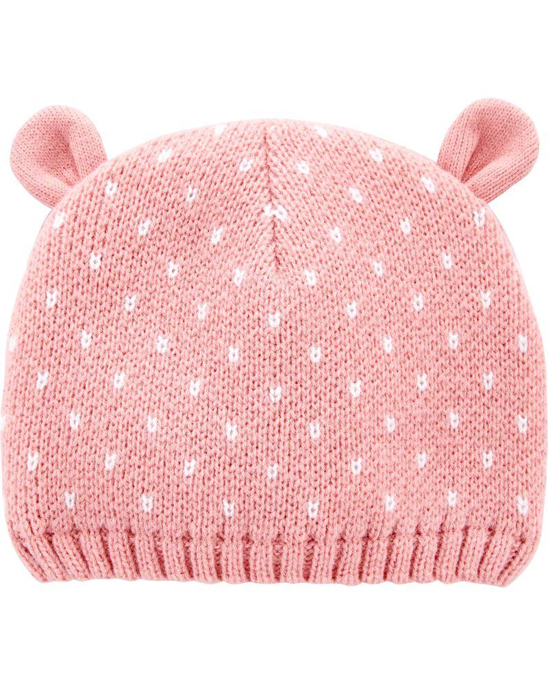 Knit Bear Cap, , hi-res