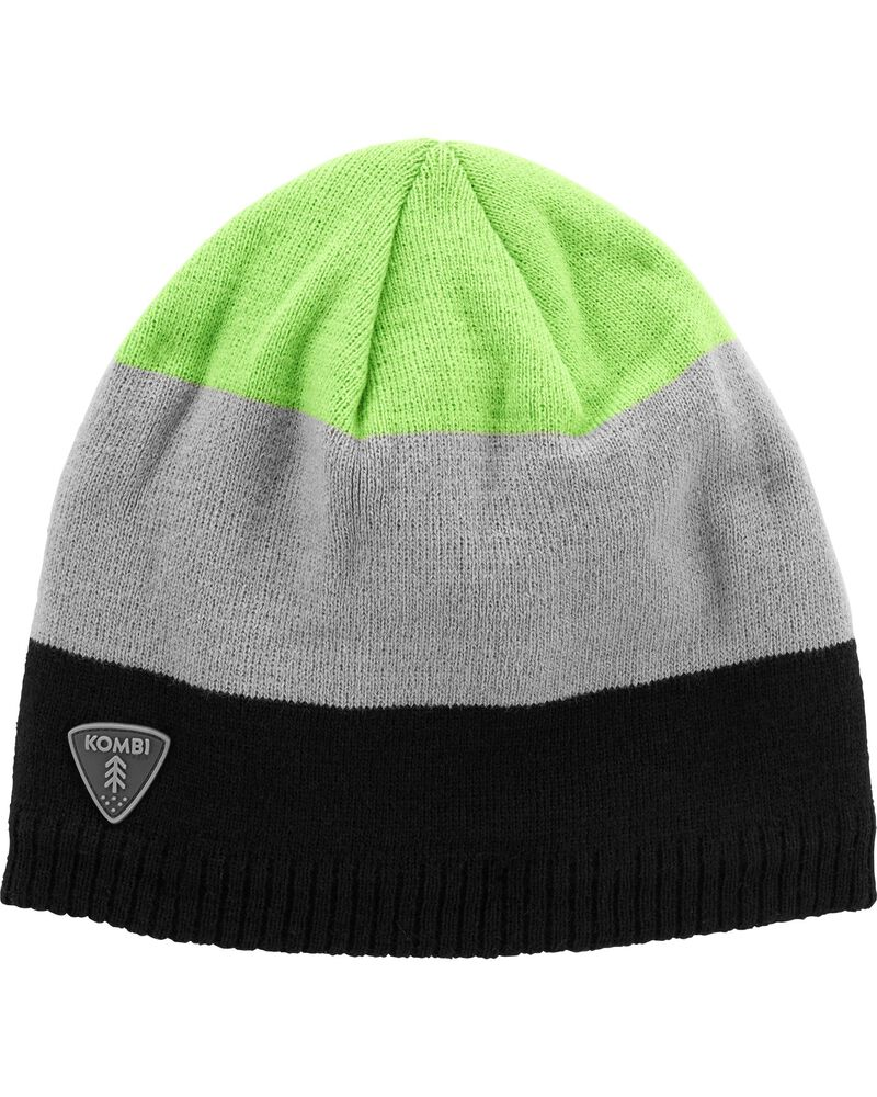 Kombi Fleece-Lined Fling Stripe Beanie, , hi-res