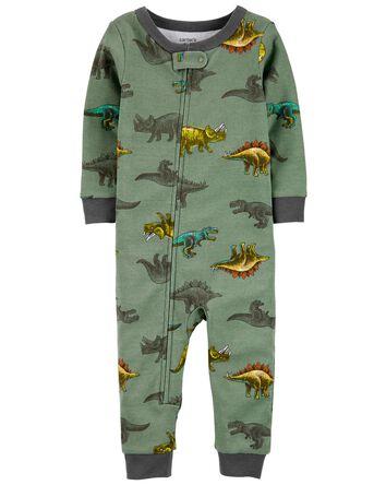 1-Piece Dinosaur 100% Snug Fit Cott...