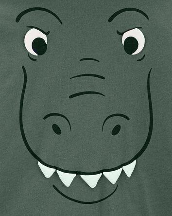 T-shirt à capuchon en jersey dinosa...