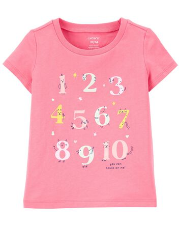 Numbers Jersey Tee