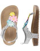 Floral Sandals, , hi-res