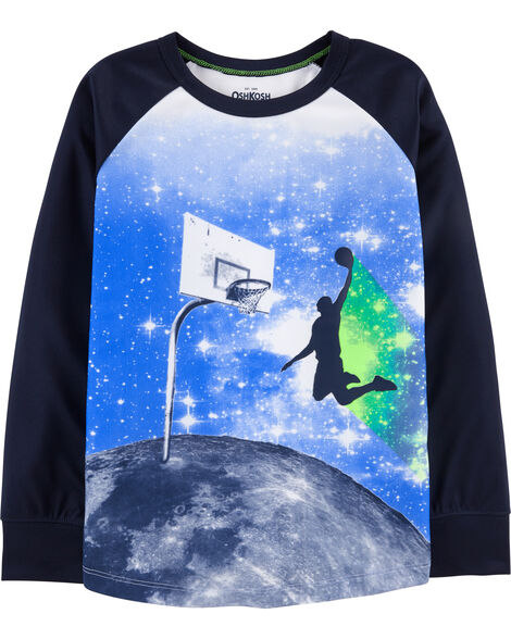 Basketball Active Tee